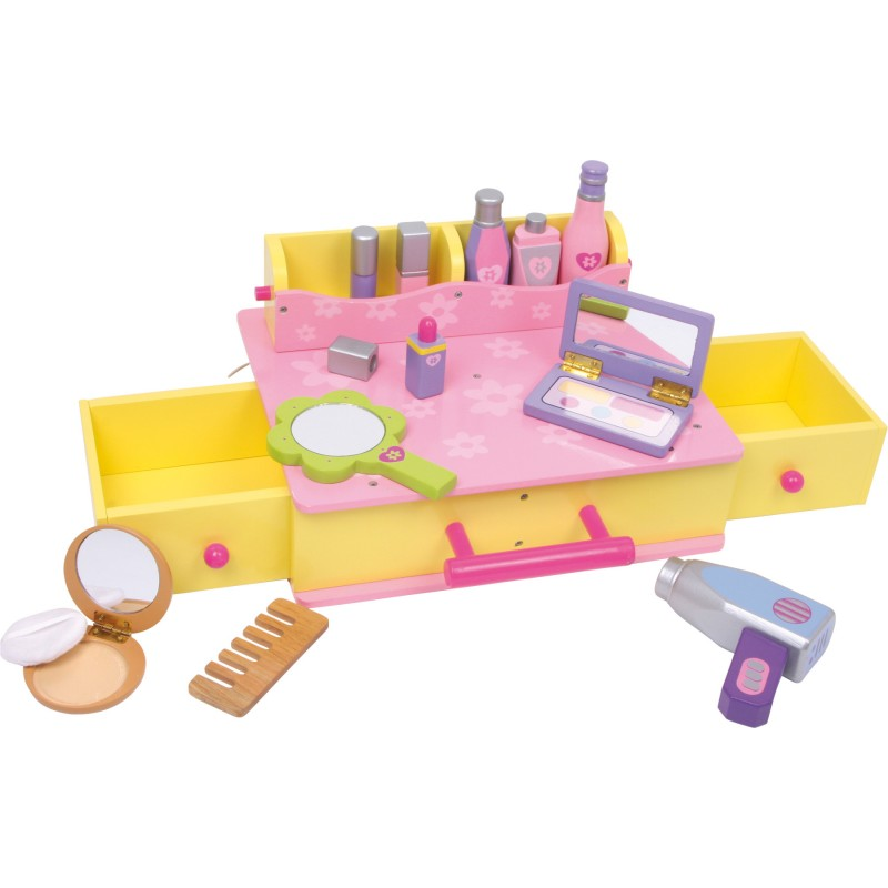 Houten beauty case / houten make-up doos