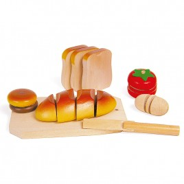 Houten snij-brood