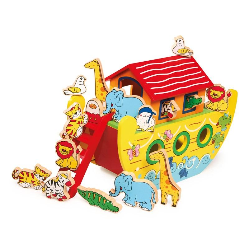 Houten Ark van Noach groot
