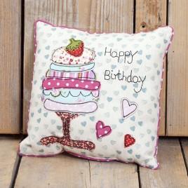 Kussen happy birthday