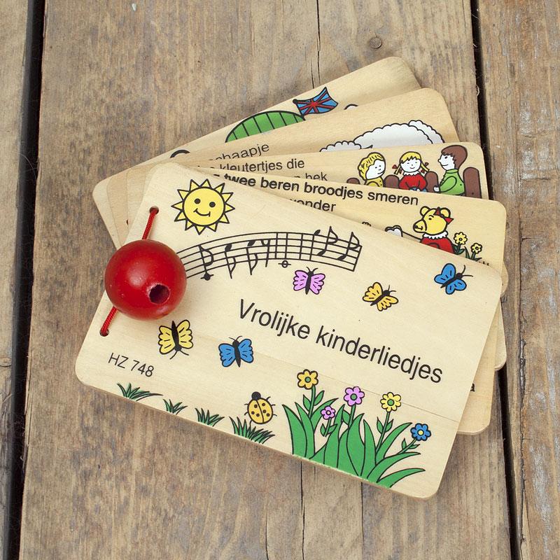 Liedjesboek groot - hout