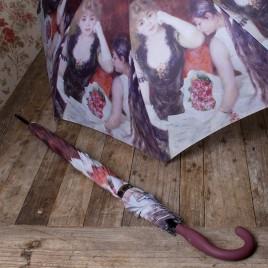 Paraplu Renoir oud-rose